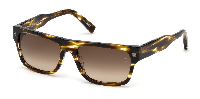 47F EZ0088 Sunglasses, Ermenegildo Zegna