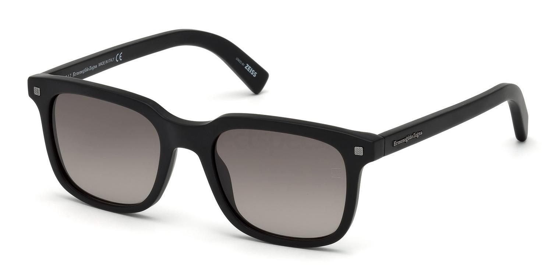 01B EZ0090 Sunglasses, Ermenegildo Zegna