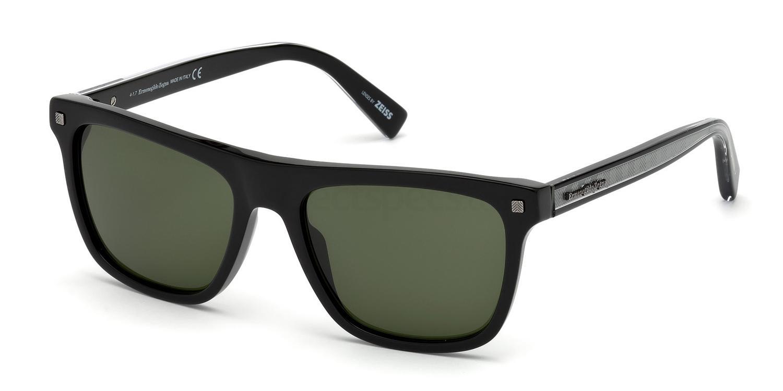 01N EZ0094 Sunglasses, Ermenegildo Zegna