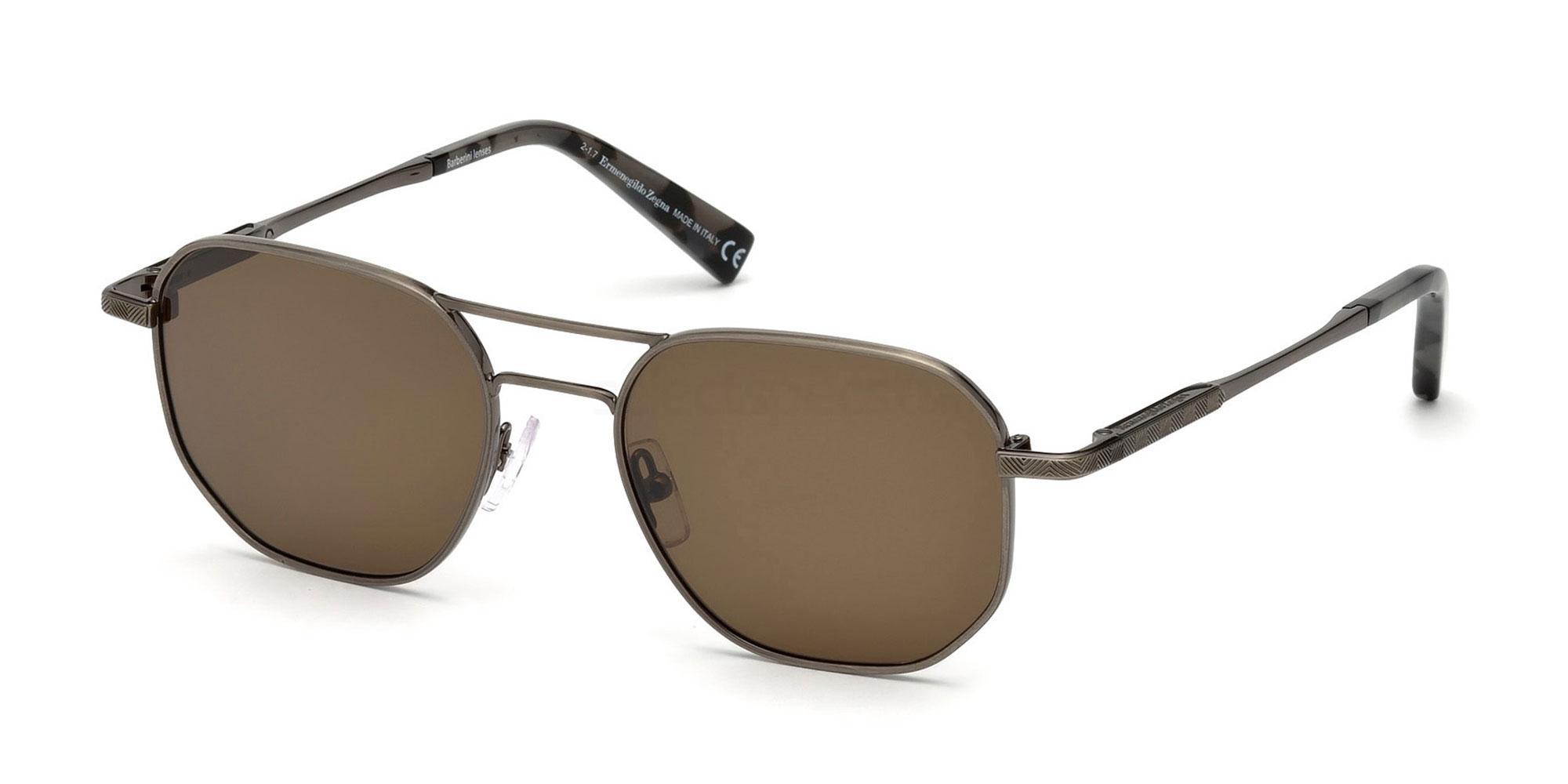 08J EZ0093 Sunglasses, Ermenegildo Zegna