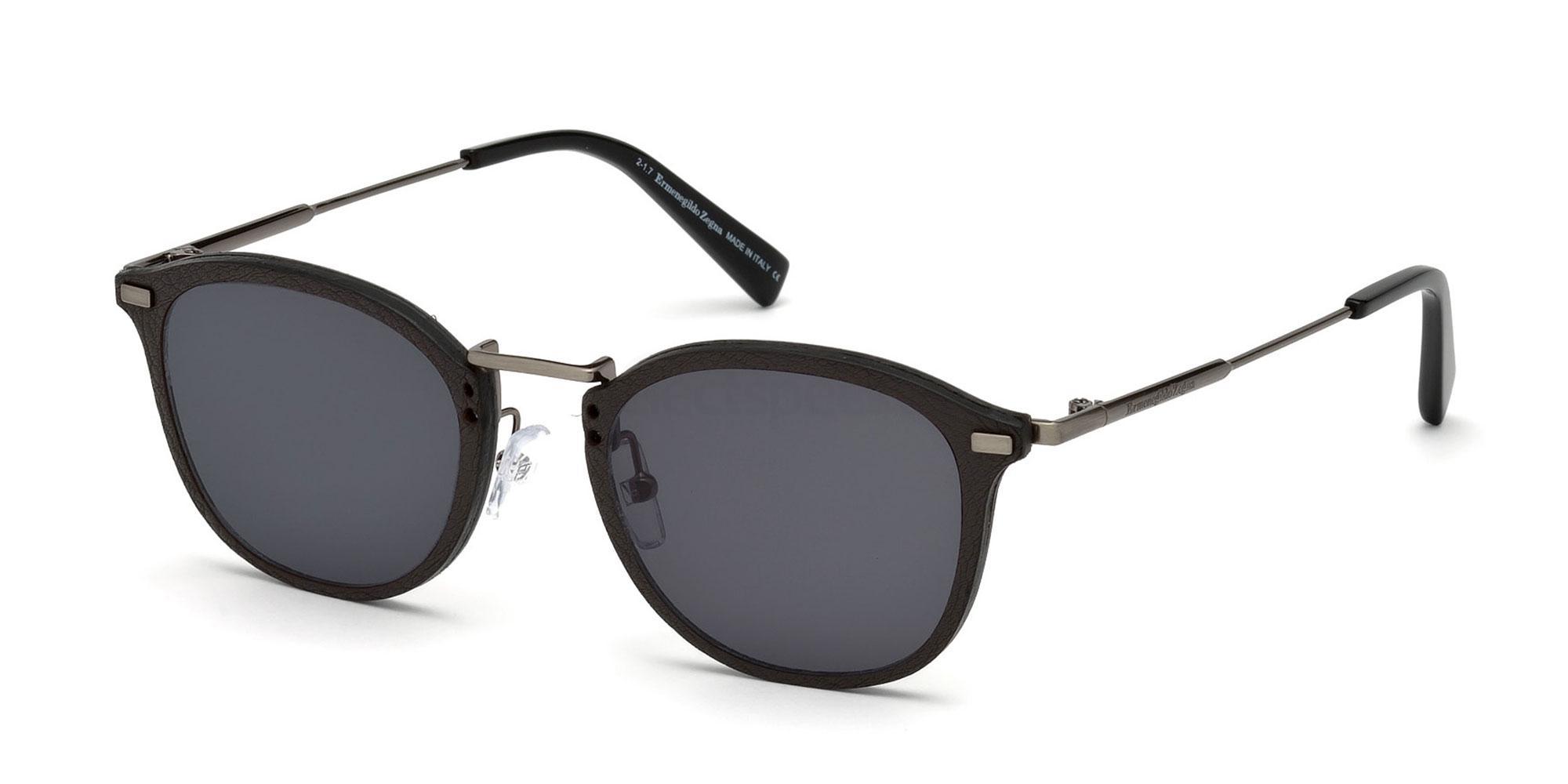 08A EZ0097 Sunglasses, Ermenegildo Zegna