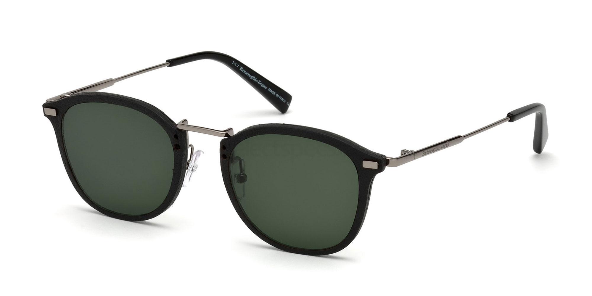 12N EZ0097 Sunglasses, Ermenegildo Zegna
