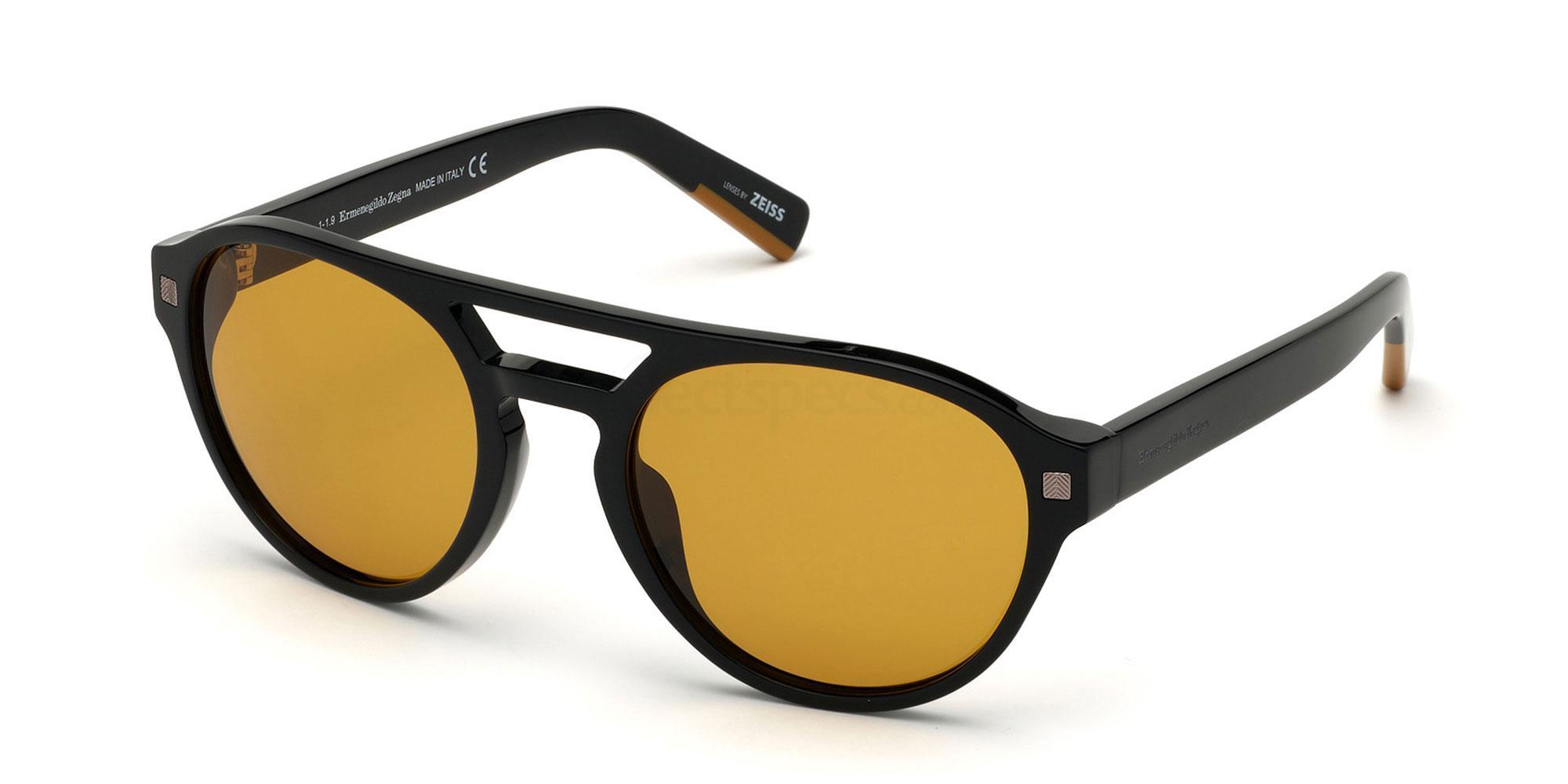 01E EZ0134 Sunglasses, Ermenegildo Zegna