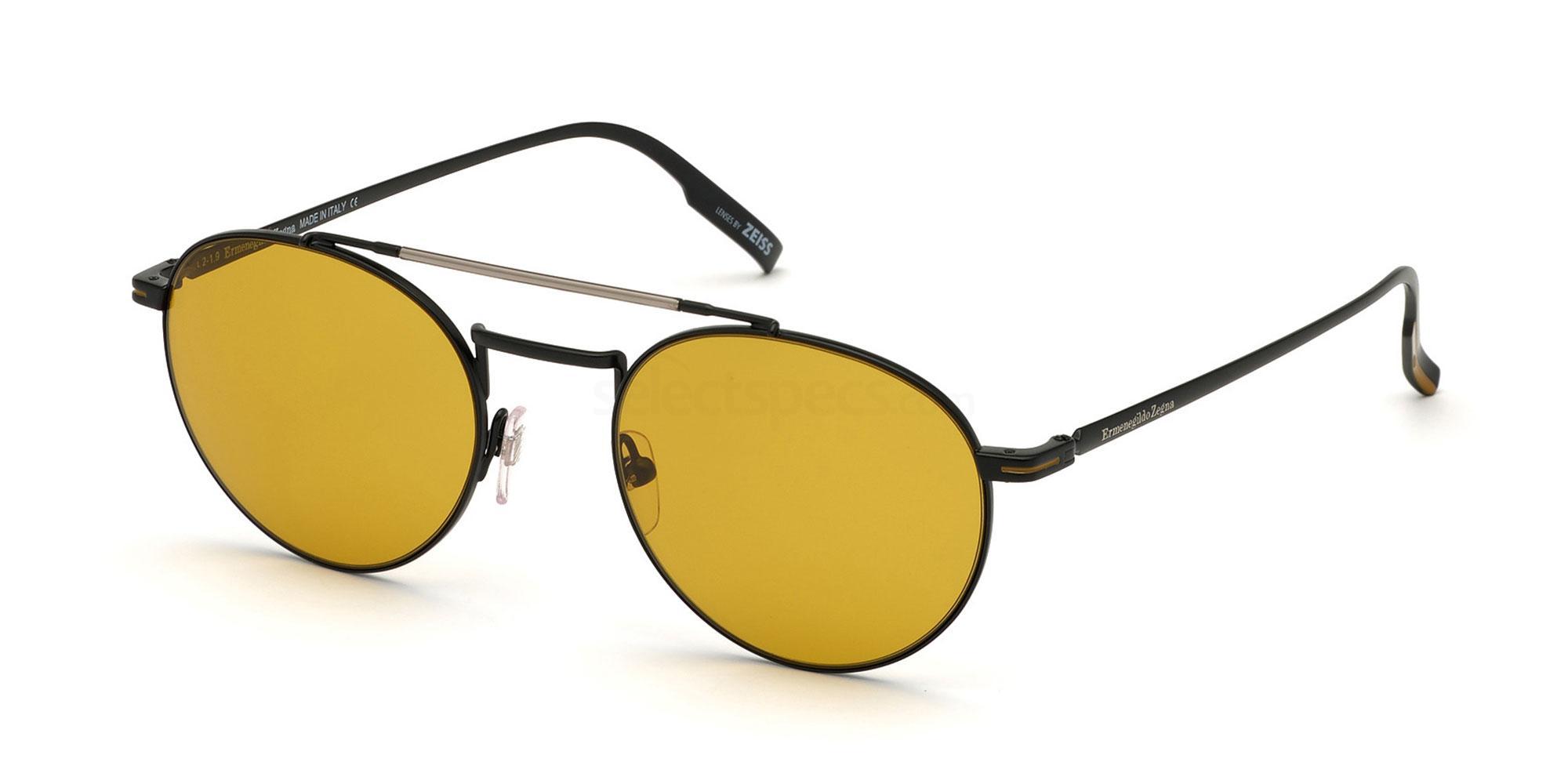 02E EZ0140 Sunglasses, Ermenegildo Zegna
