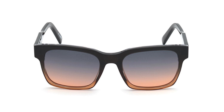 50F EZ0142 Sunglasses, Ermenegildo Zegna