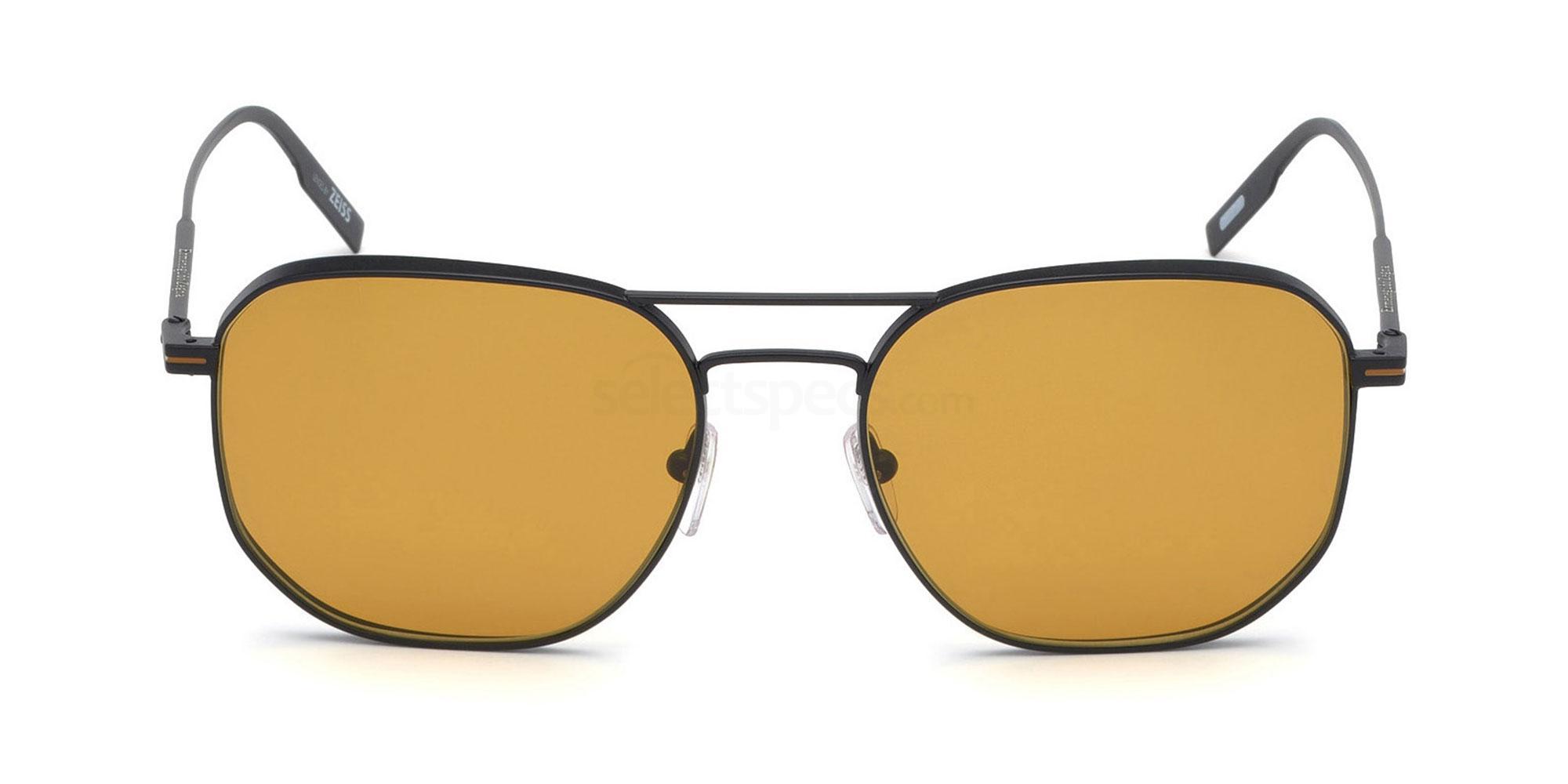02E EZ0128 Sunglasses, Ermenegildo Zegna