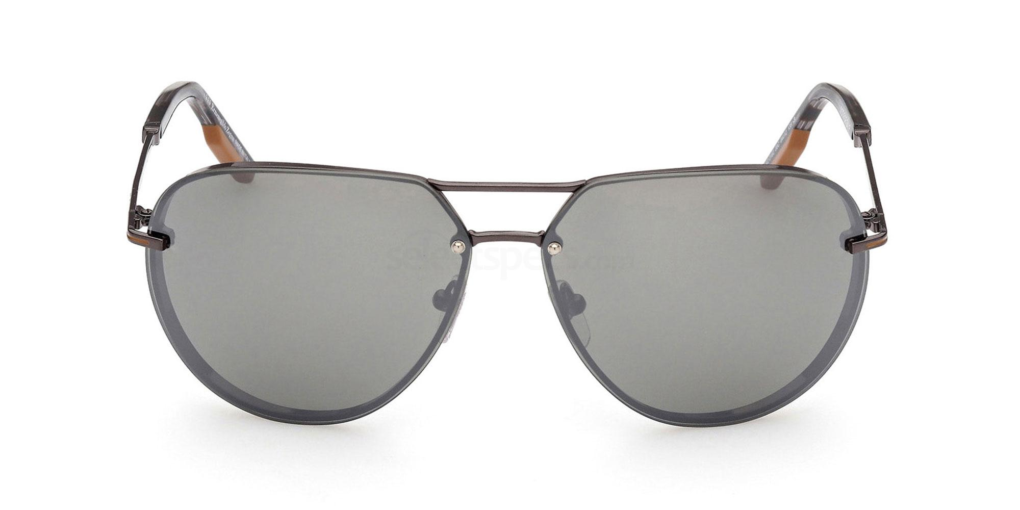 08C EZ0162 Sunglasses, Ermenegildo Zegna
