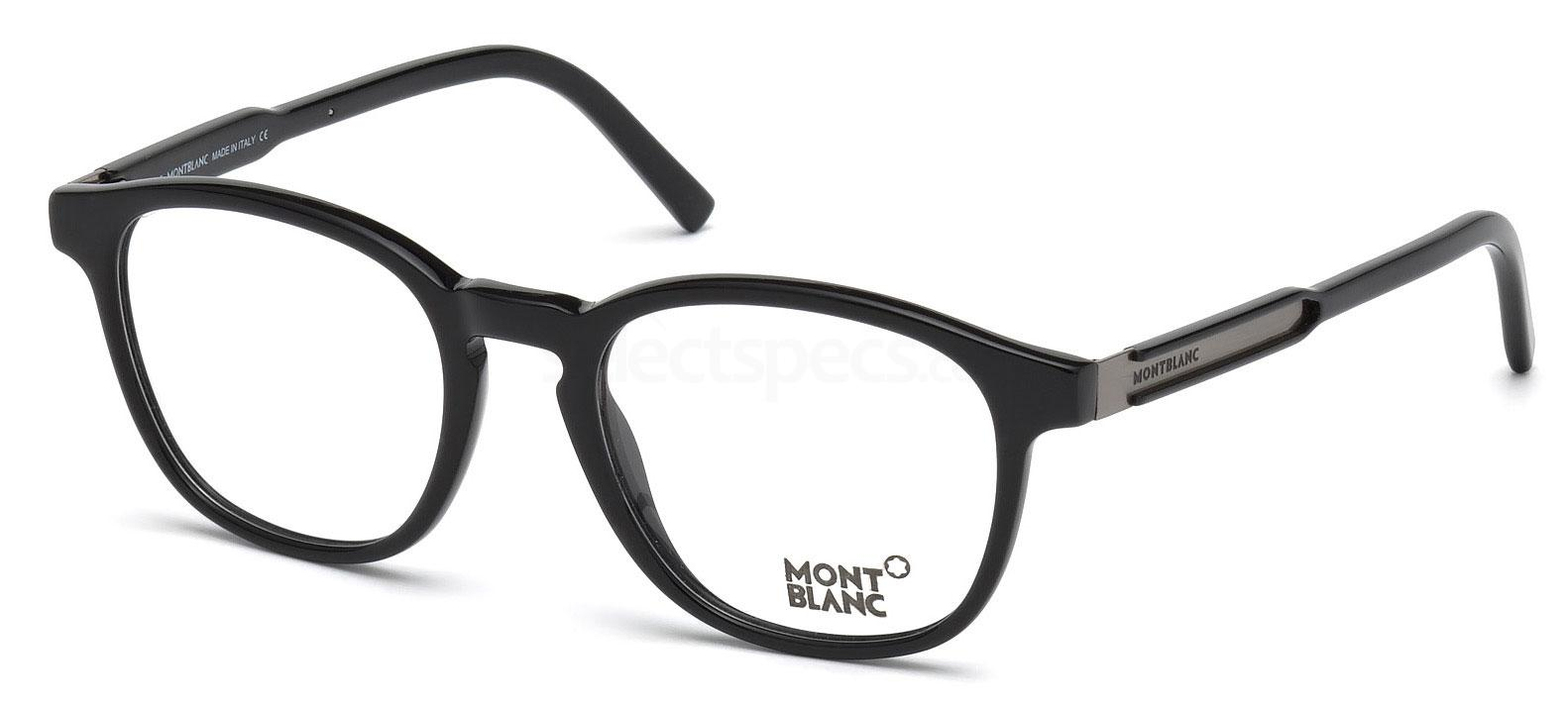 001 MB0632 Glasses, Mont Blanc