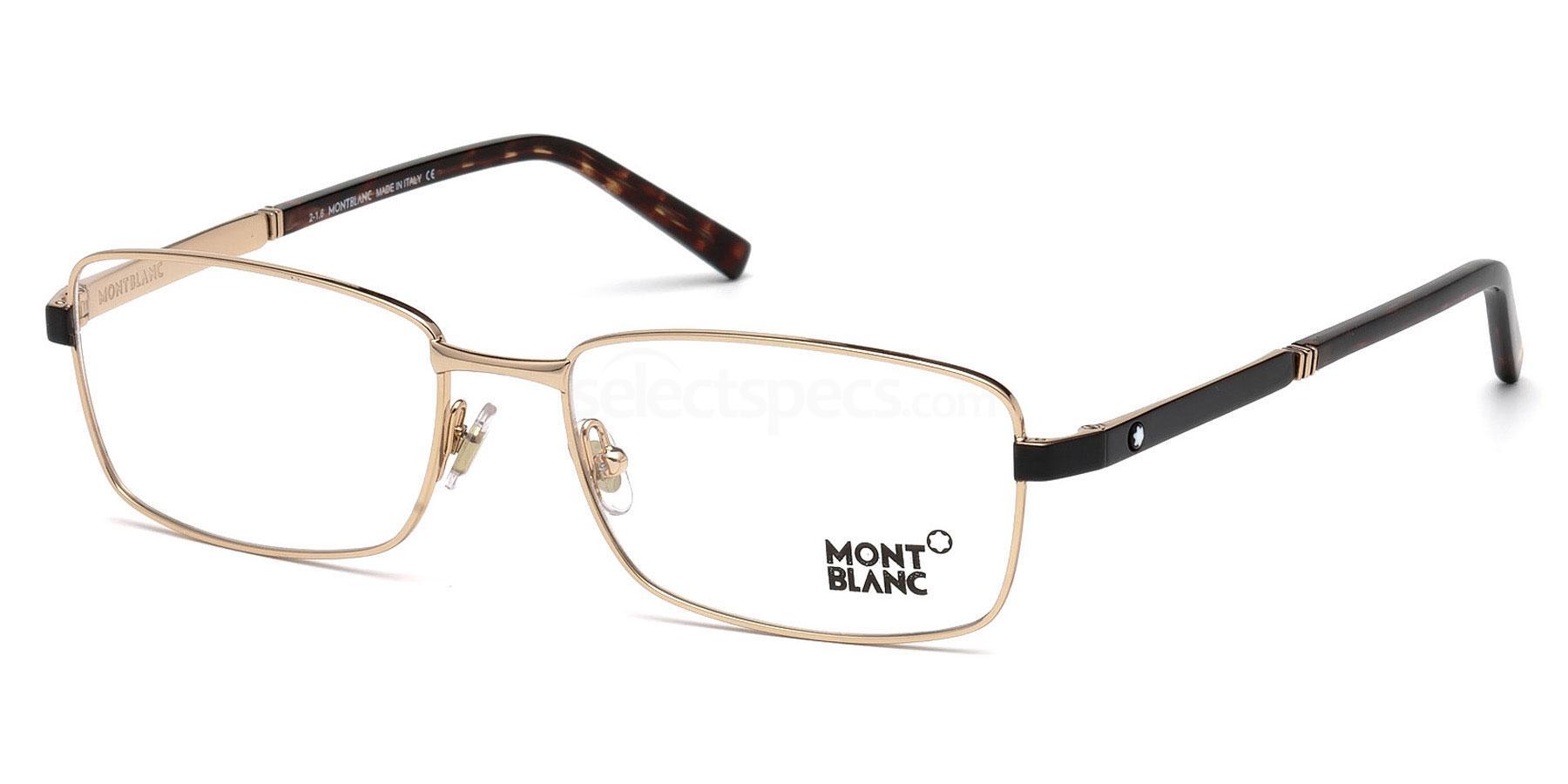 028 MB0633 Glasses, Mont Blanc
