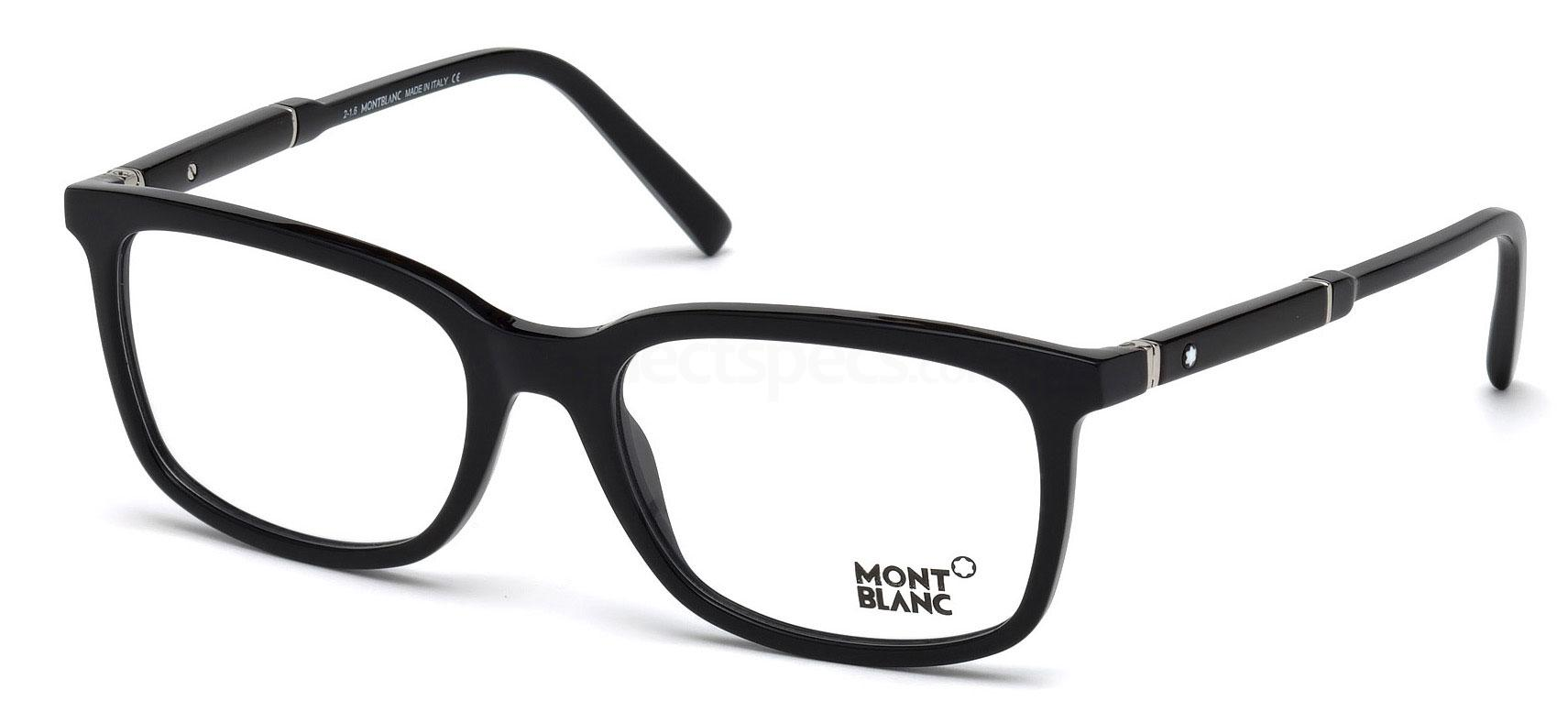 001 MB0638 Glasses, Mont Blanc