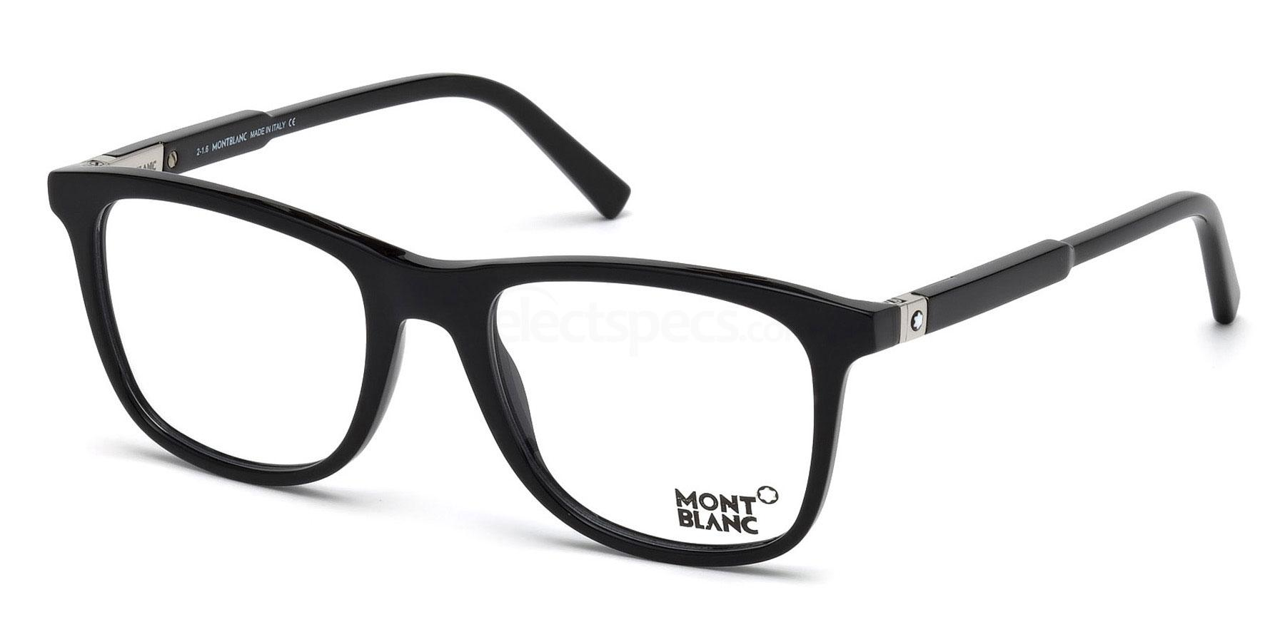 001 MB0637 Glasses, Mont Blanc
