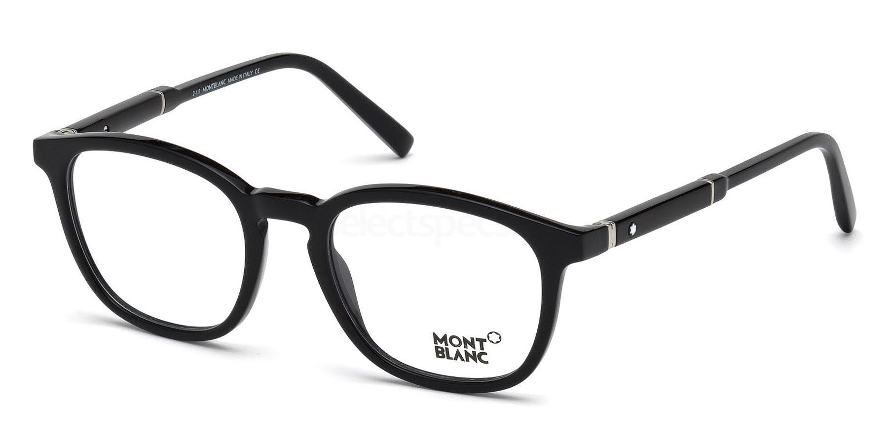 001 MB0639 Glasses, Mont Blanc