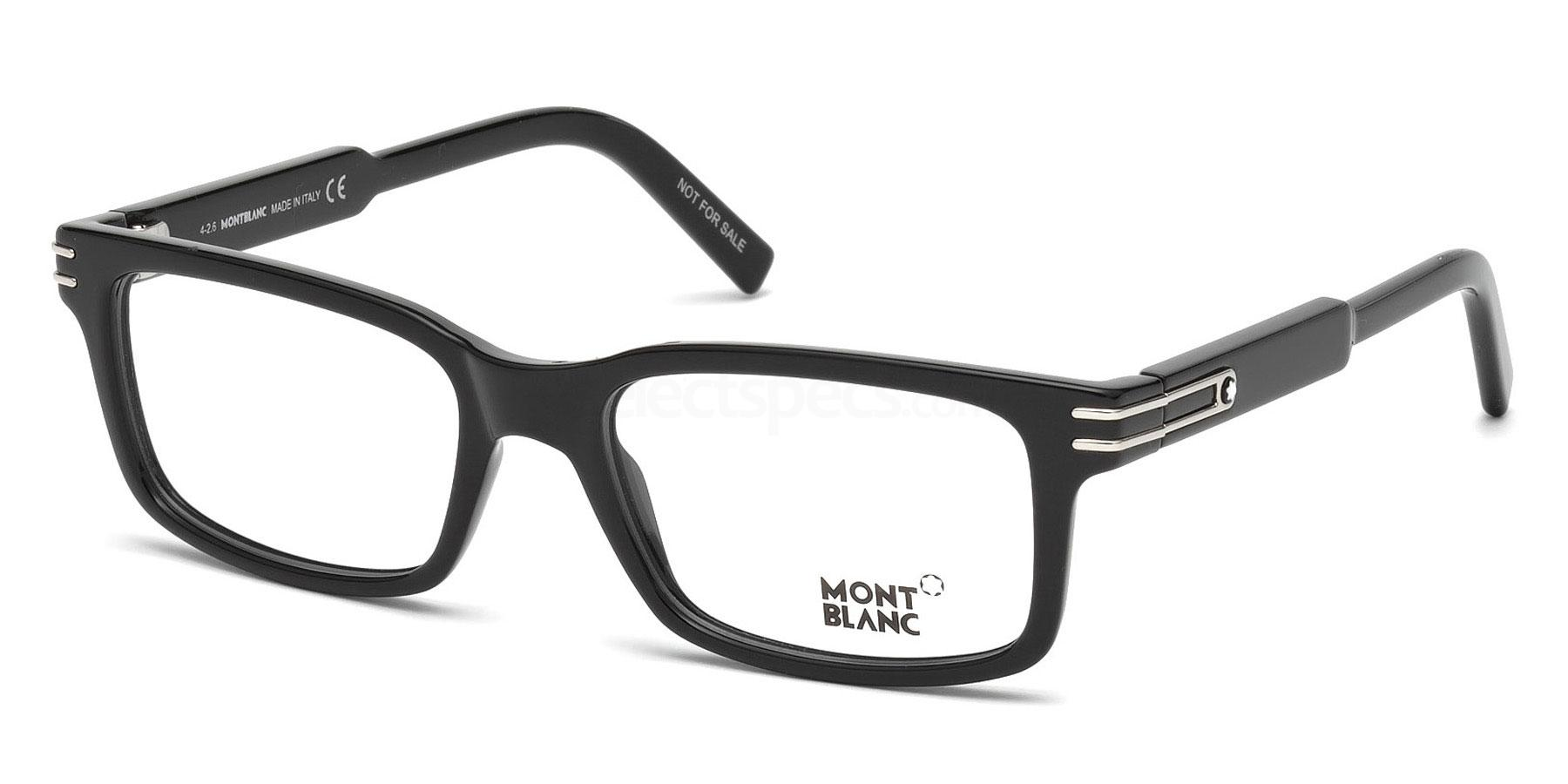 001 MB0668 Glasses, Mont Blanc