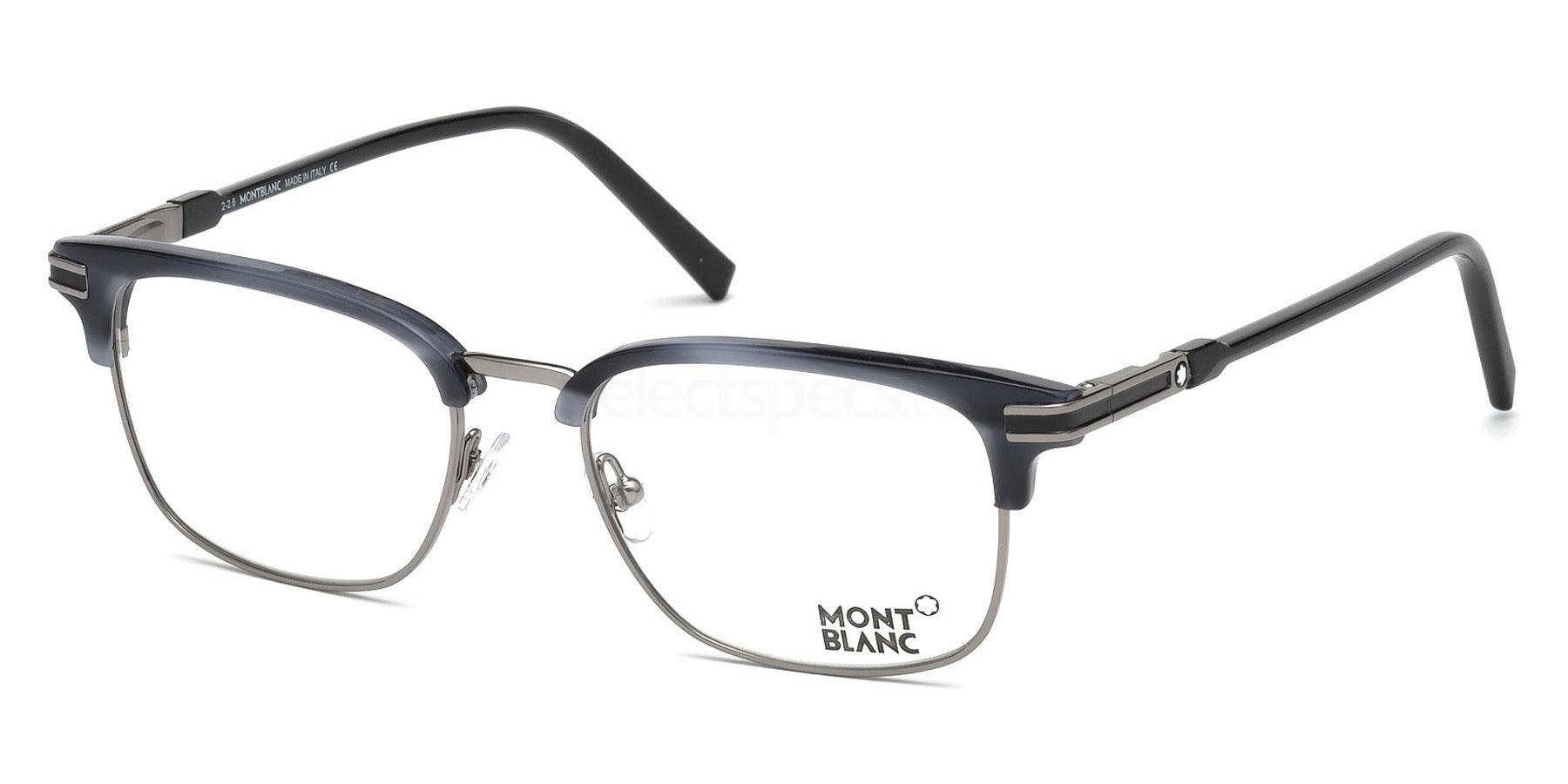 090 MB0669 Glasses, Mont Blanc