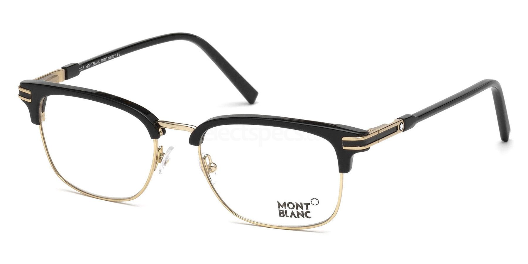 A01 MB0669 Glasses, Mont Blanc