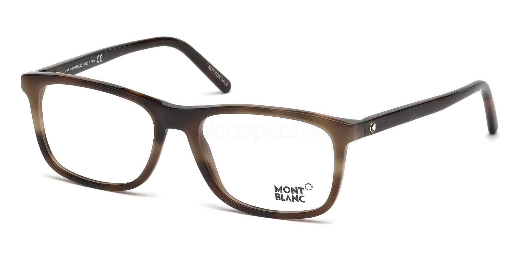 052 MB0672 Glasses, Mont Blanc