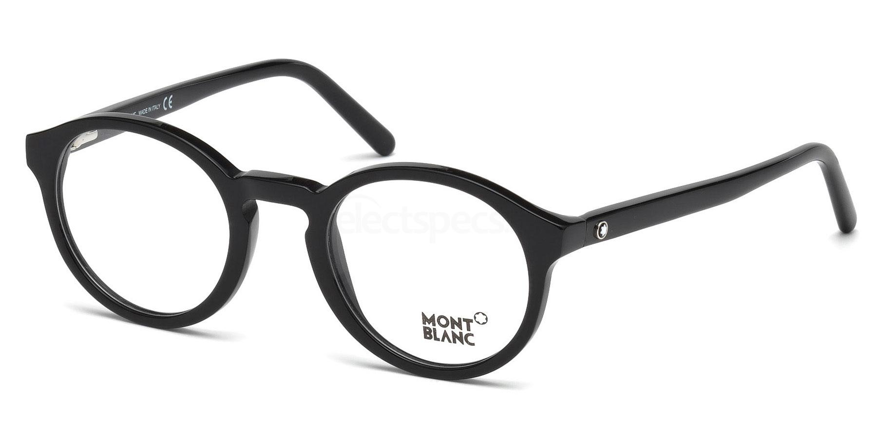 001 MB0673 Glasses, Mont Blanc