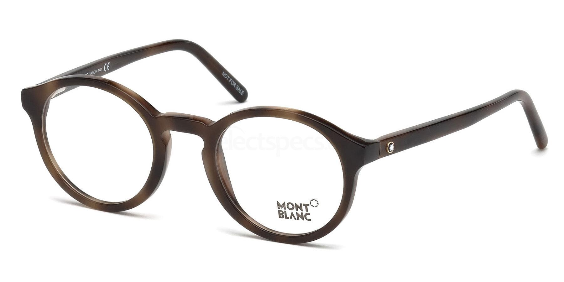 052 MB0673 Glasses, Mont Blanc