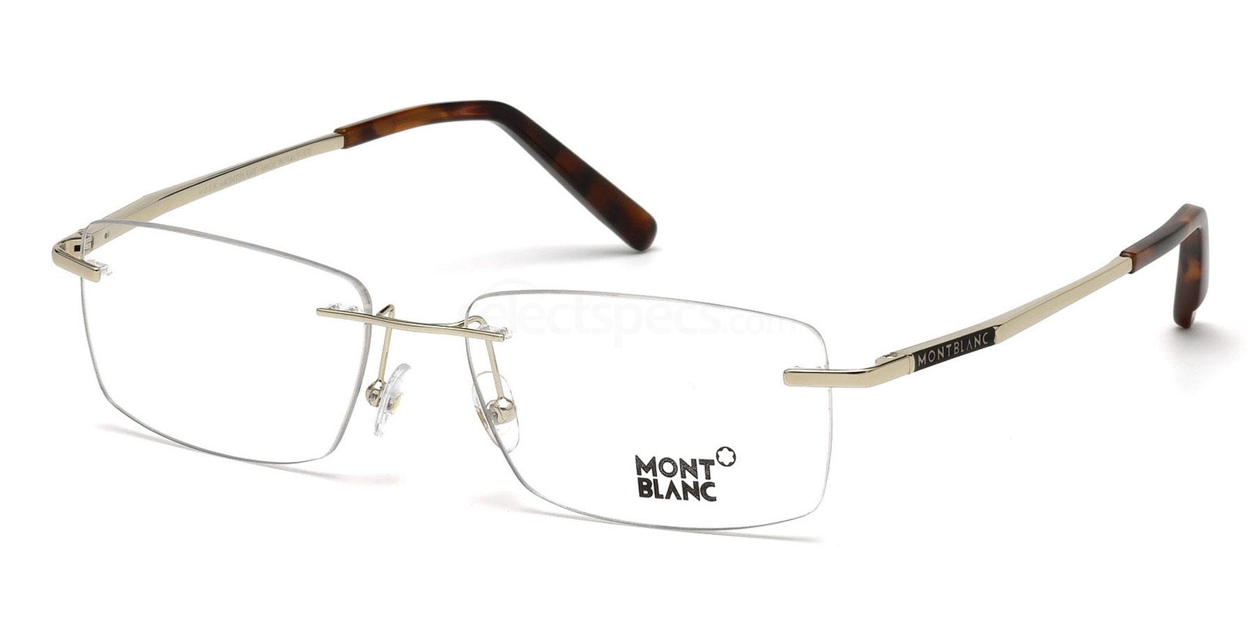 028 MB0670 Glasses, Mont Blanc
