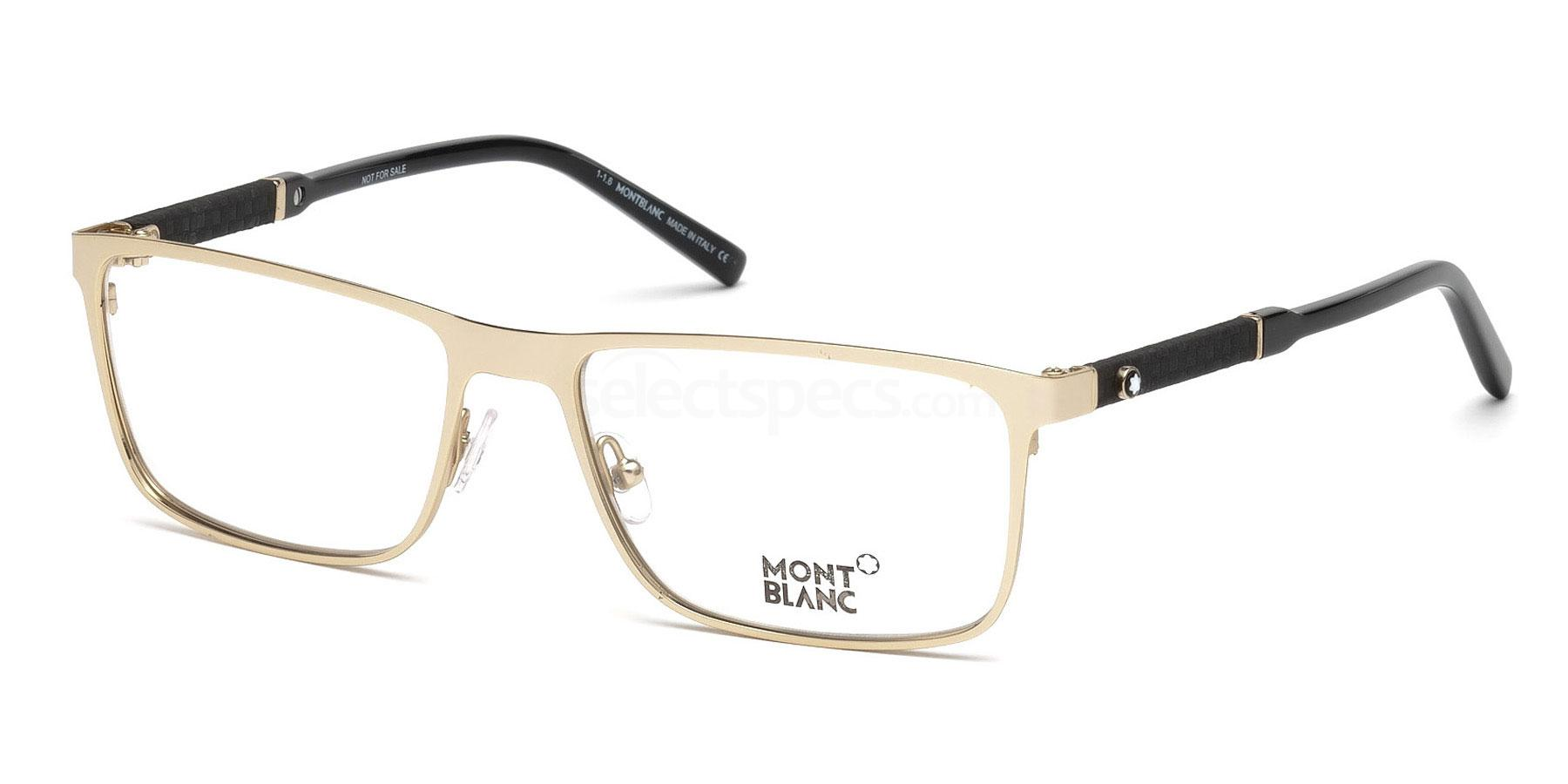 028 MB0674 Glasses, Mont Blanc