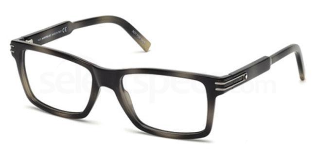 055 MB0676 Glasses, Mont Blanc