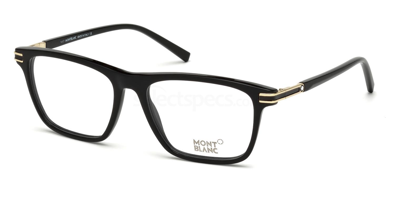 001 MB0710 Glasses, Mont Blanc