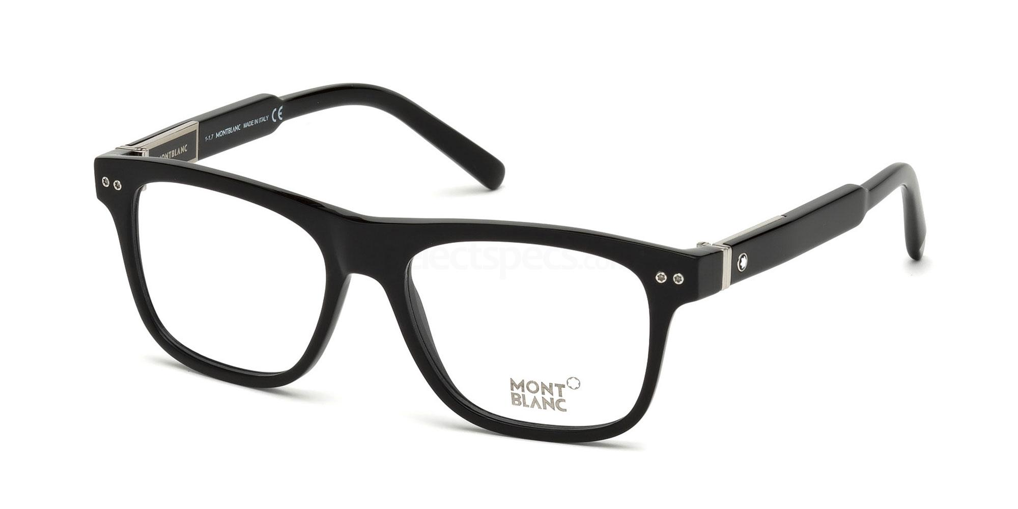 001 MB0704 Glasses, Mont Blanc