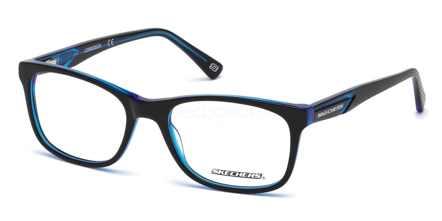 001 SE3206 Glasses, Skechers