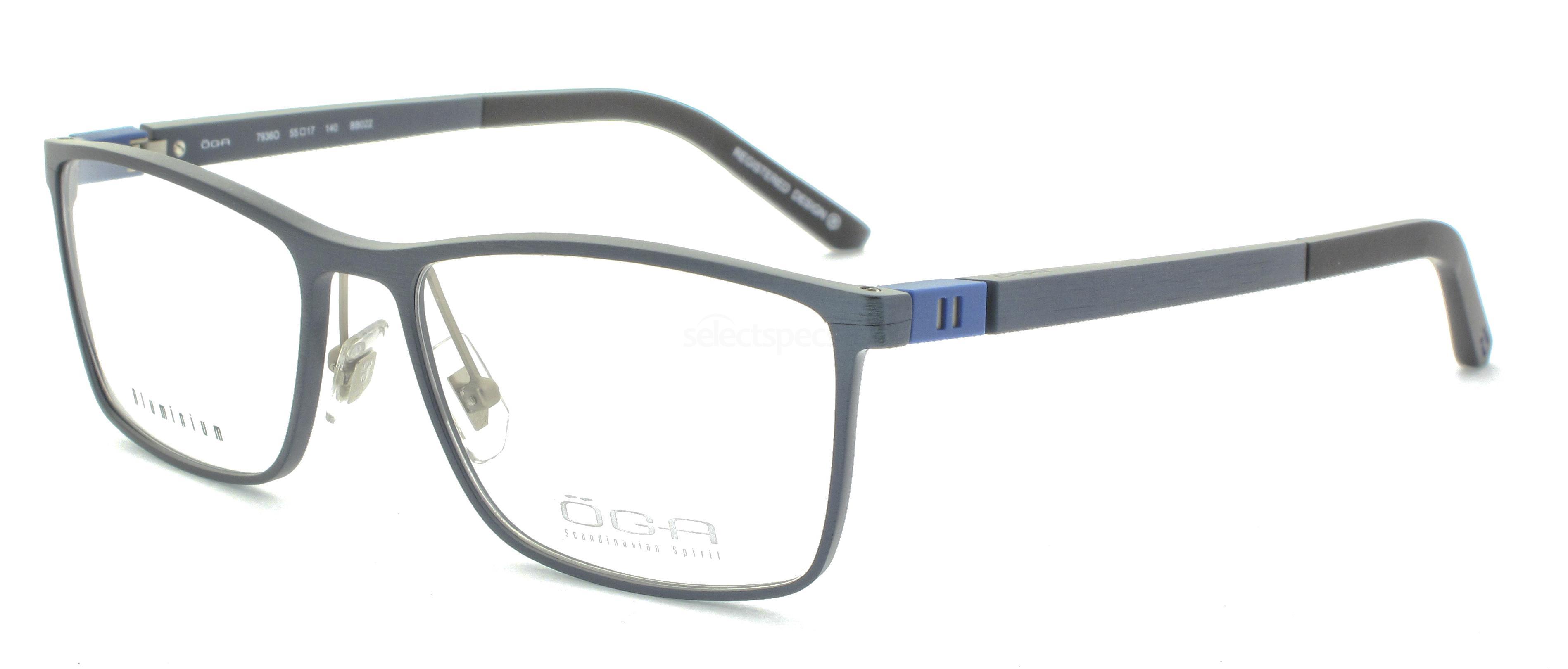 BB022 7936O SKARP (FULL  ALUMINIUM) Glasses, ÖGA Scandinavian Spirit