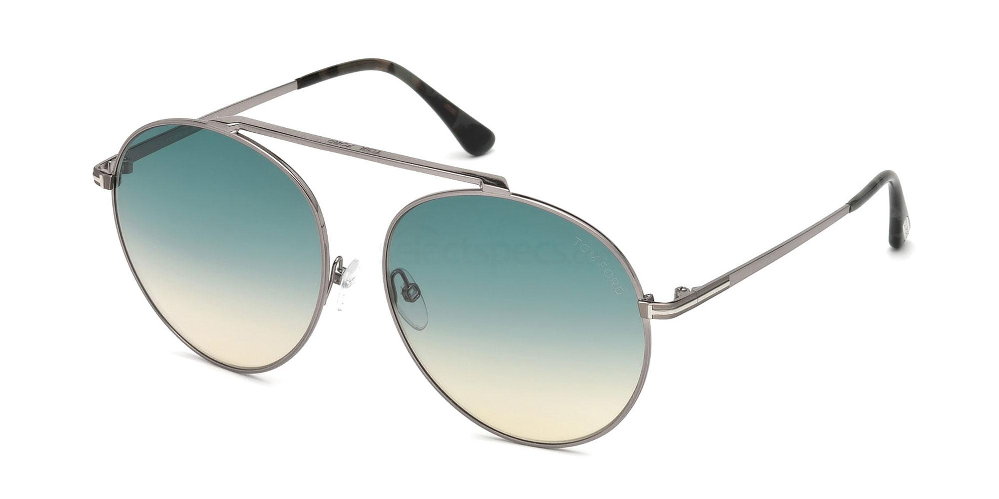 14W FT0571 Sunglasses, Tom Ford