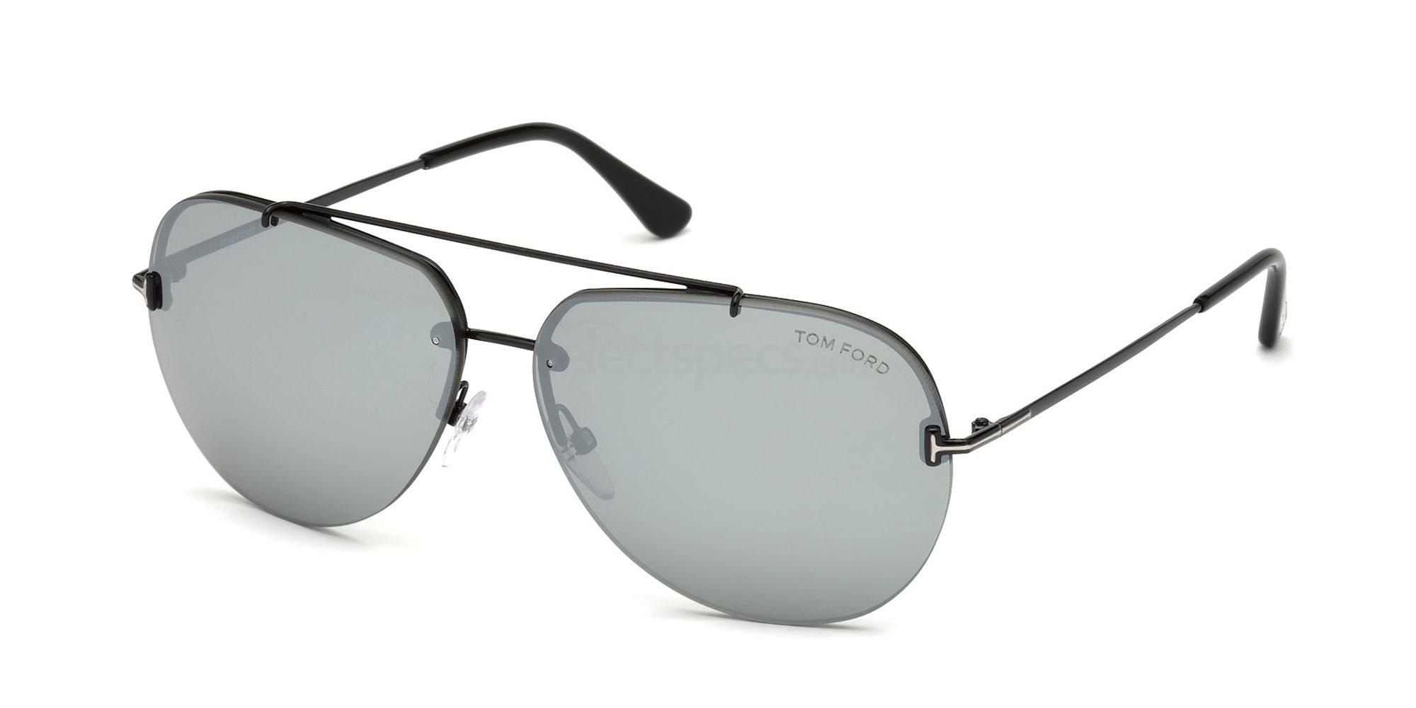 12C FT0584 Sunglasses, Tom Ford