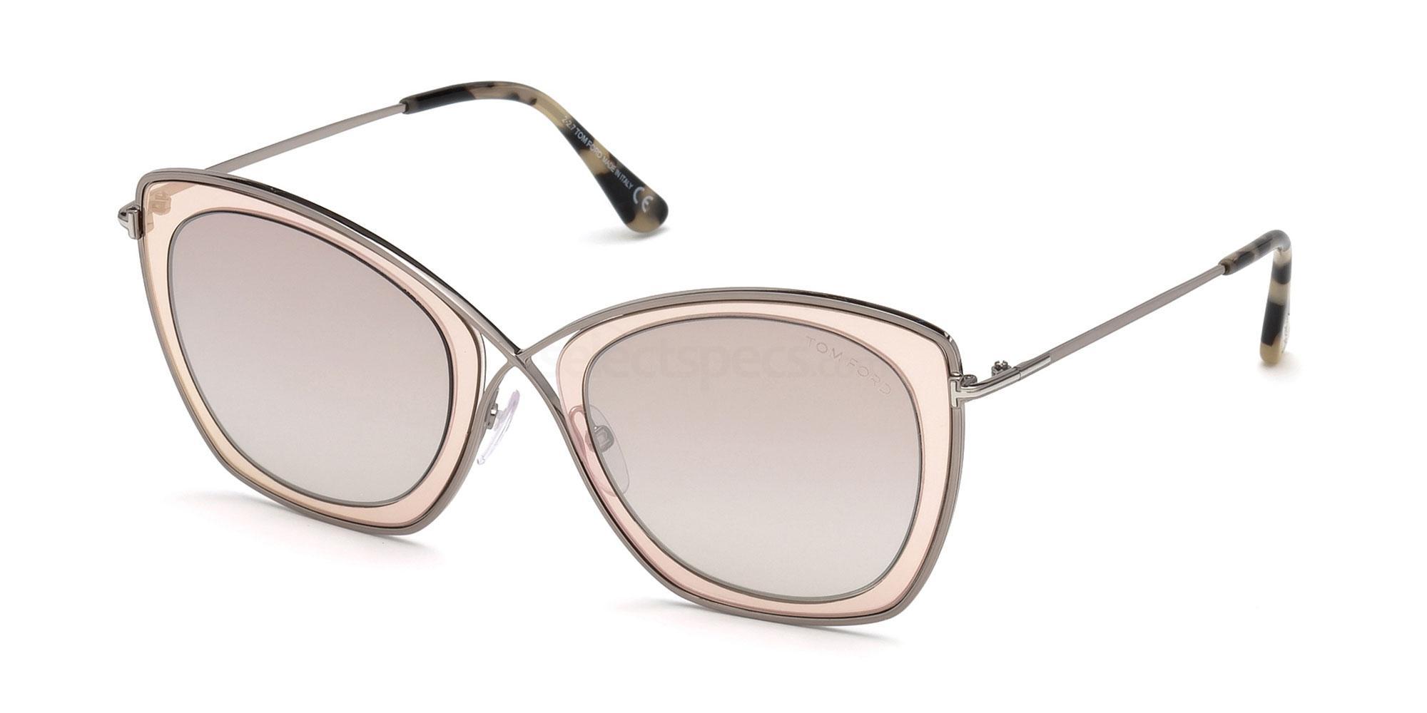 47G FT0605 Sunglasses, Tom Ford