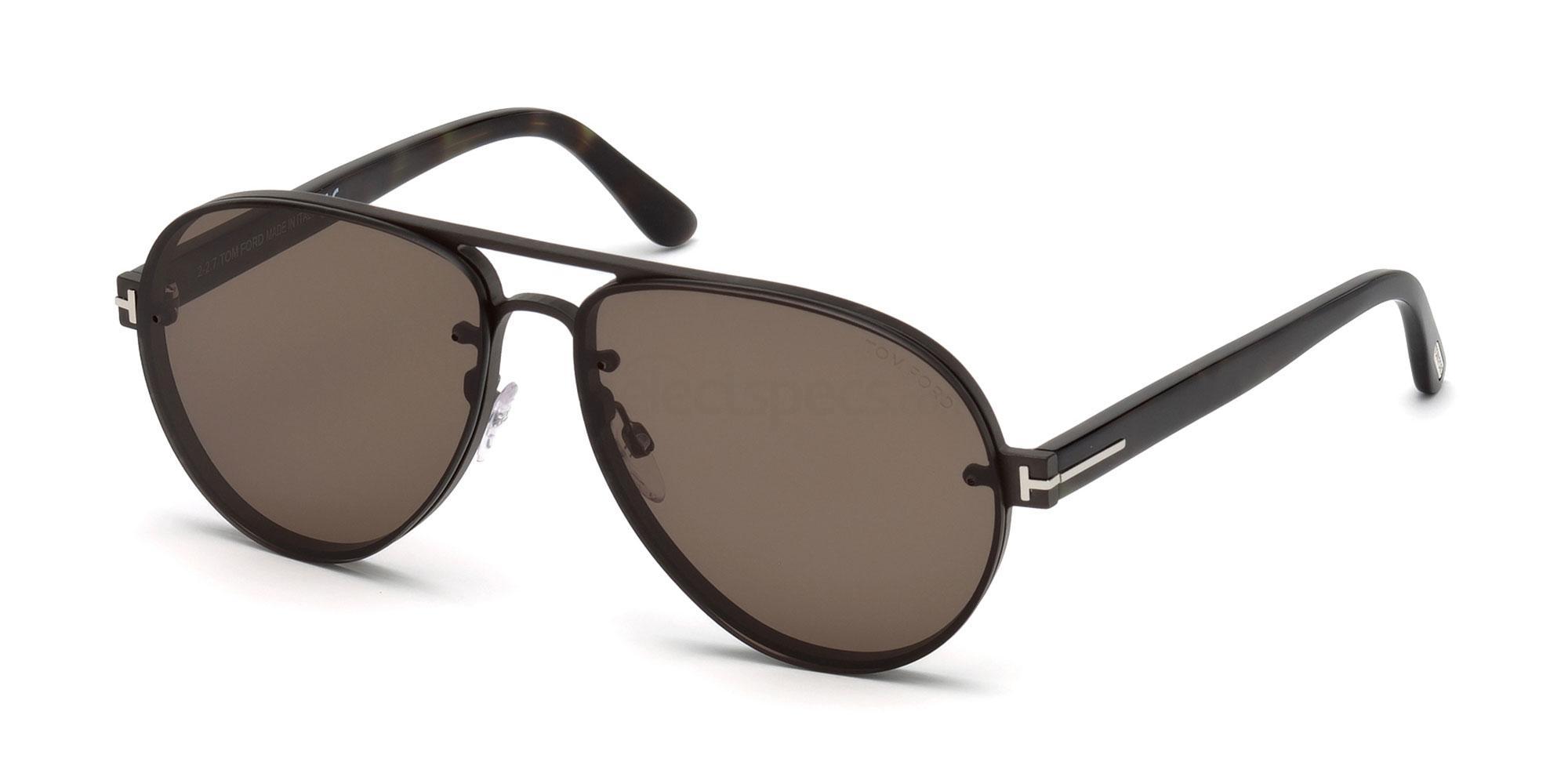12J FT0622 Sunglasses, Tom Ford