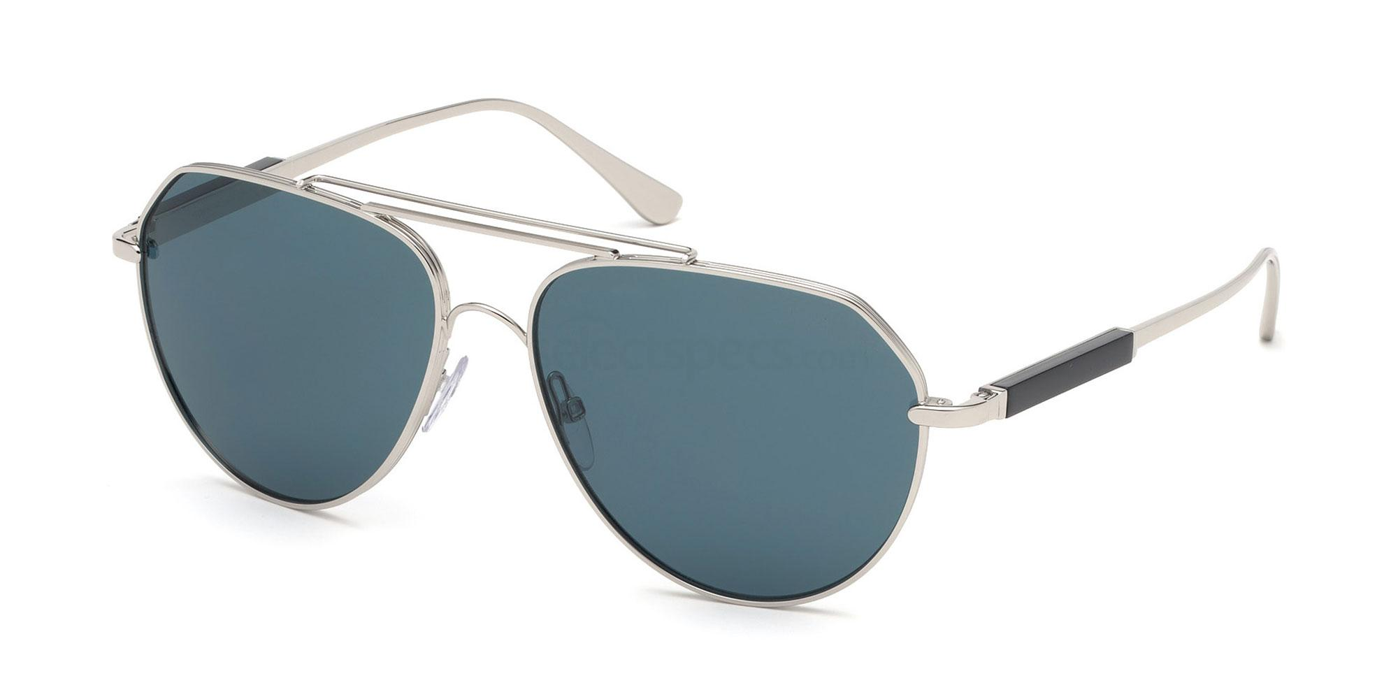 16V FT0670 Sunglasses, Tom Ford