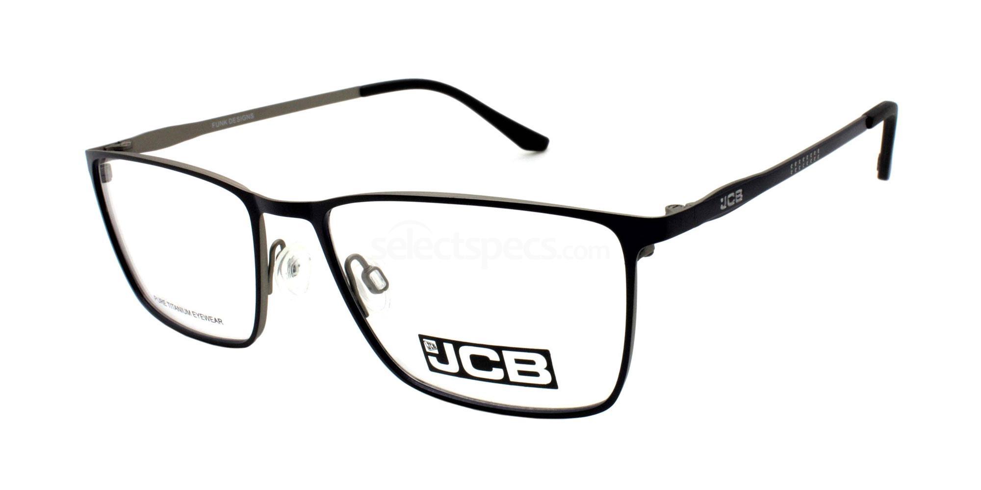 BLUE JCB PRECISION Glasses, JCB Titanium