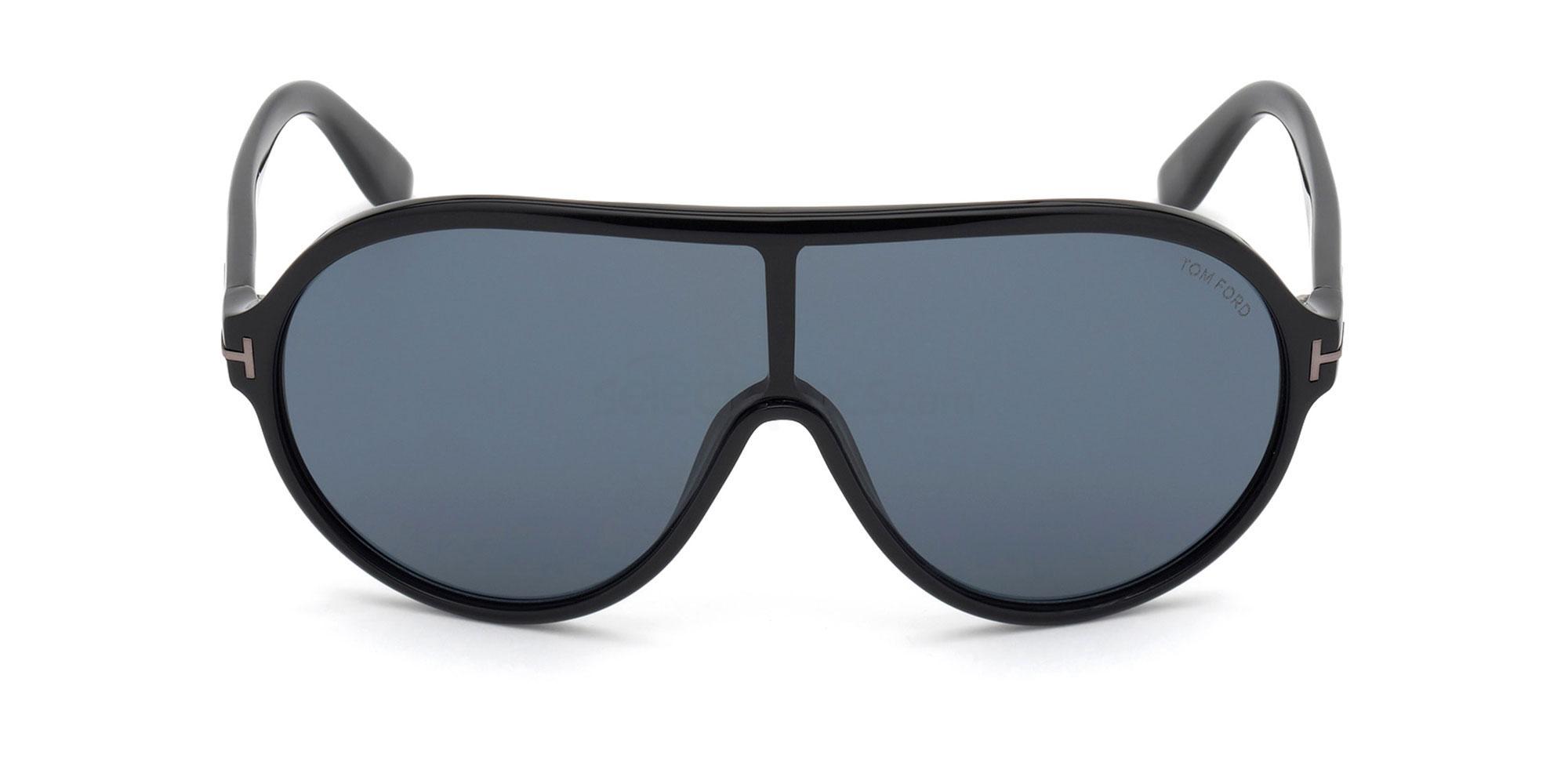 01A FT0814-N Sunglasses, Tom Ford