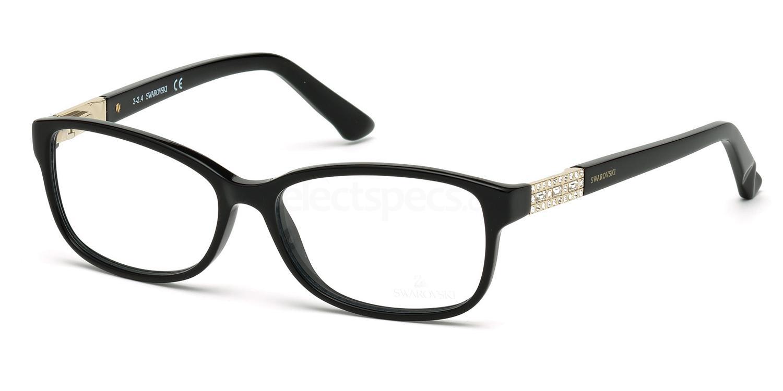 001 SK5155 FOXY Glasses, Swarovski