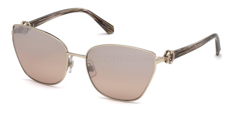 28G SK0167 Sunglasses, Swarovski