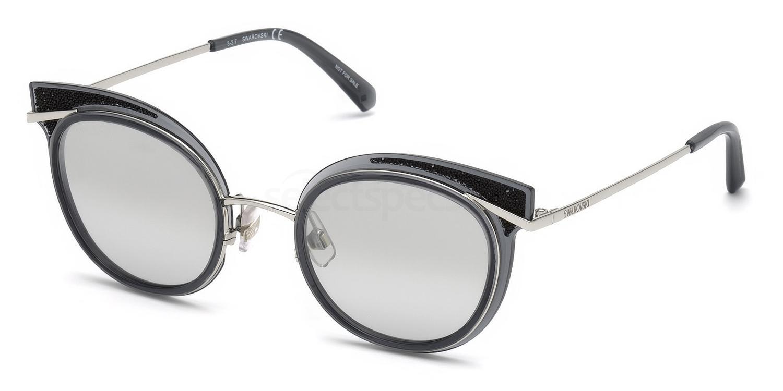 20C SK0169 Sunglasses, Swarovski