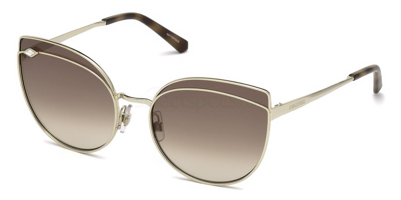 32F SK0172 Sunglasses, Swarovski