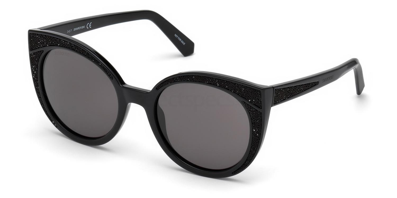 01A SK0178 Sunglasses, Swarovski