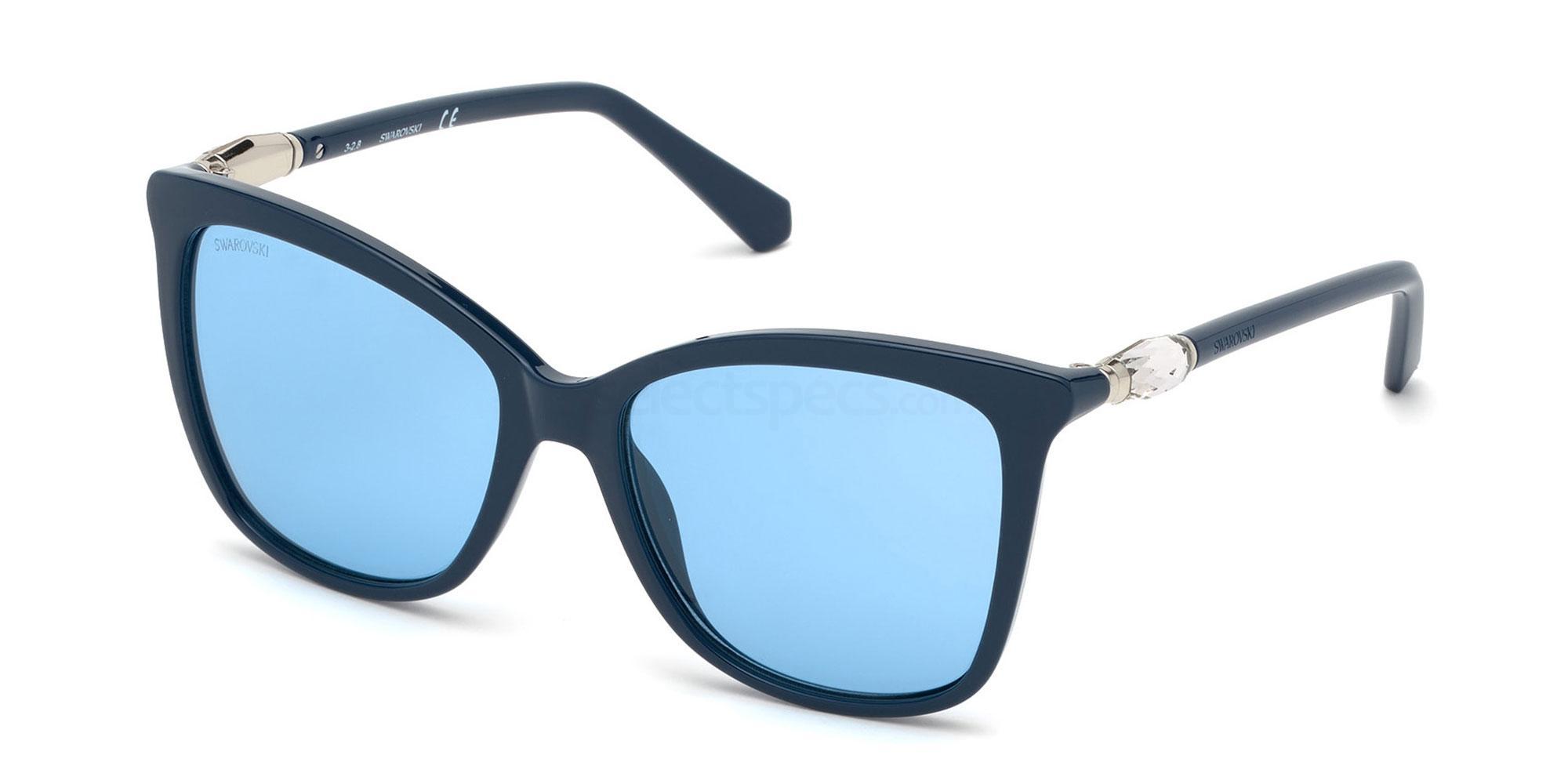 90V SK0227 Sunglasses, Swarovski
