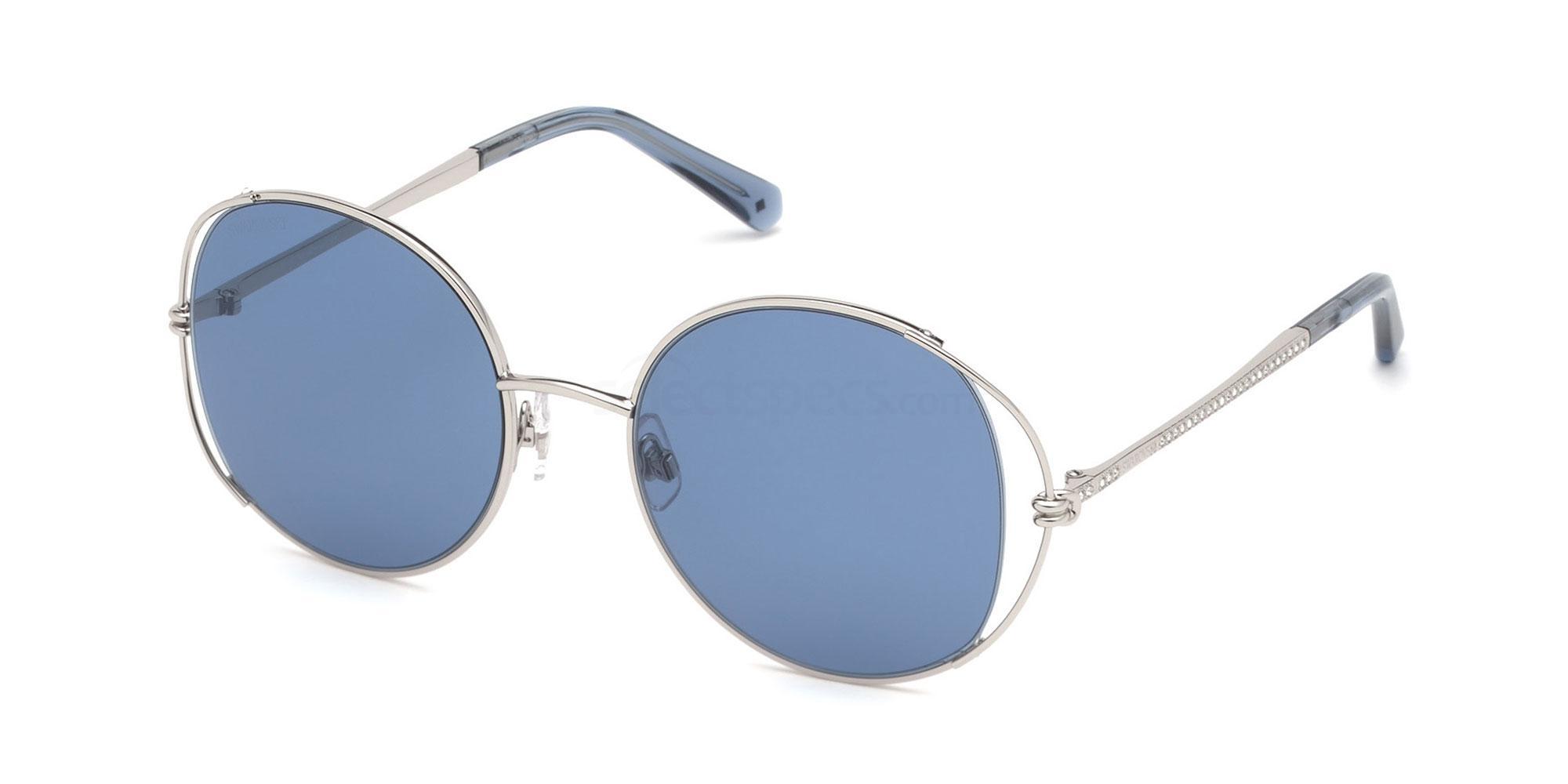 16V SK0230 Sunglasses, Swarovski