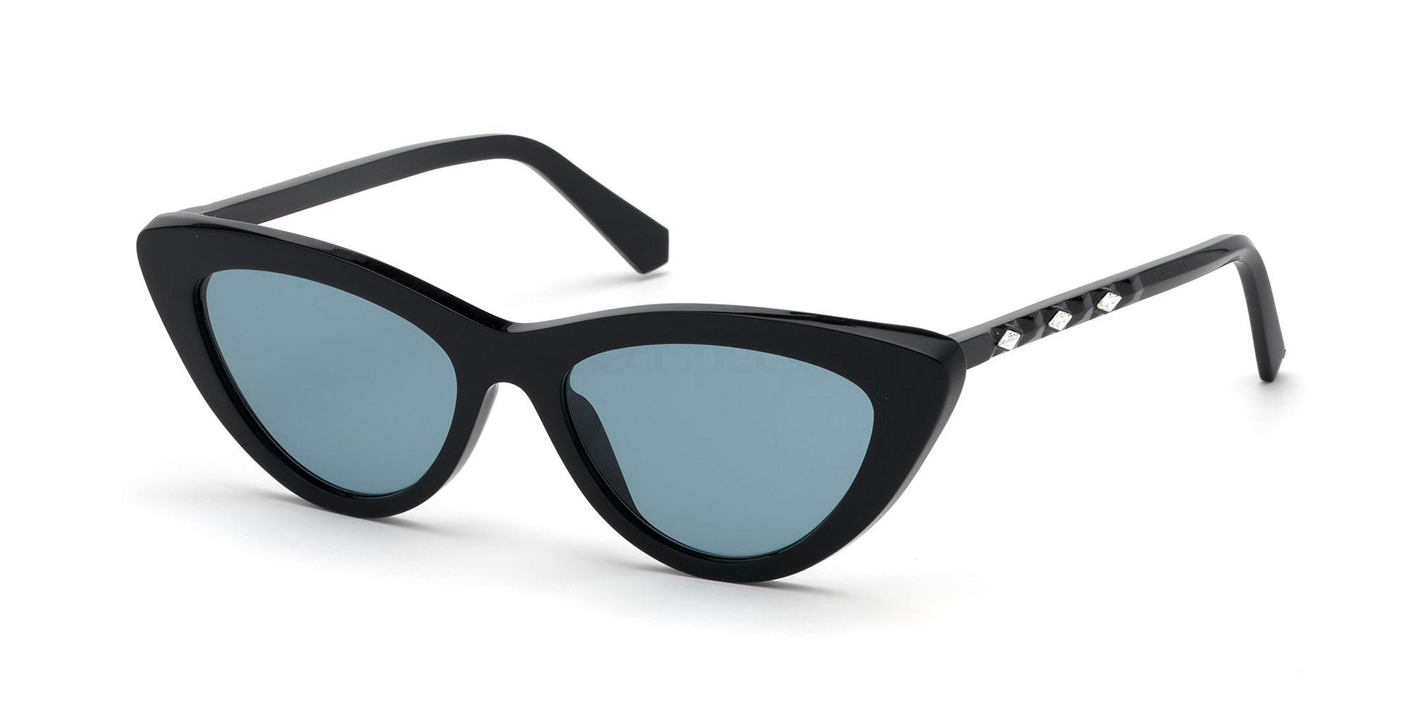 01X SK0232 Sunglasses, Swarovski