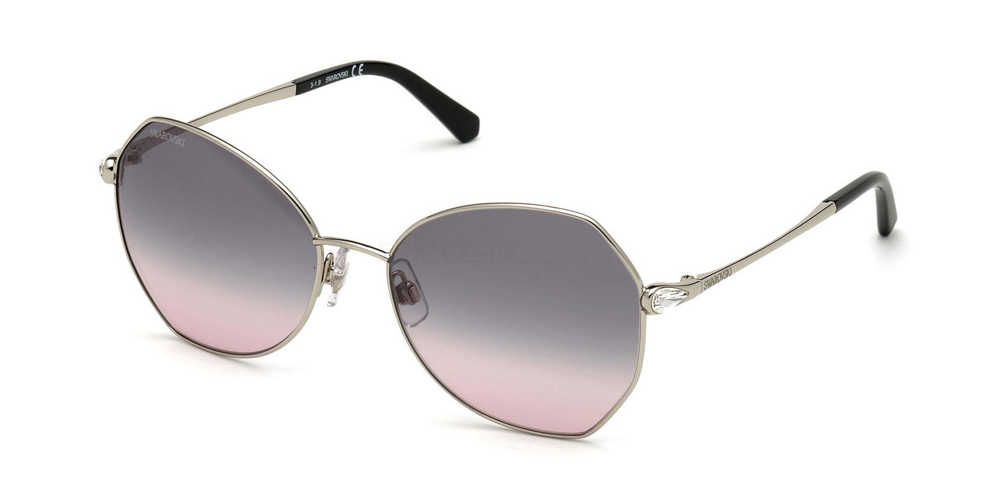 16B SK0266 Sunglasses, Swarovski
