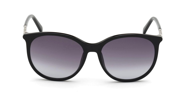 01B SK0293-H Sunglasses, Swarovski