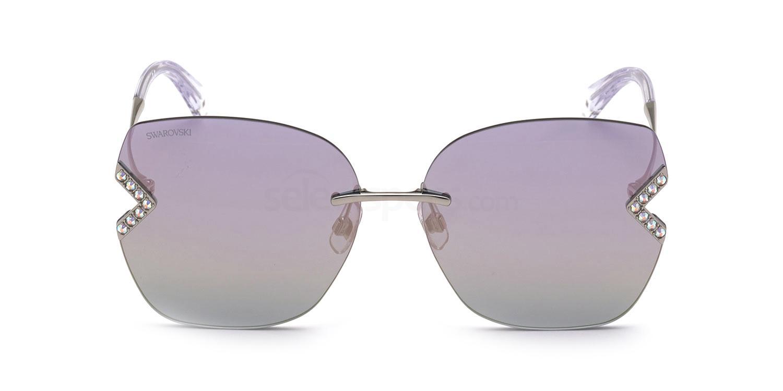 16Z SK0306-H Sunglasses, Swarovski
