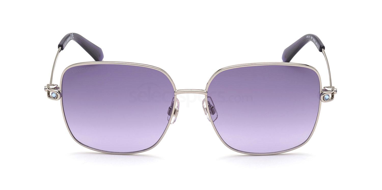 16W SK0313 Sunglasses, Swarovski