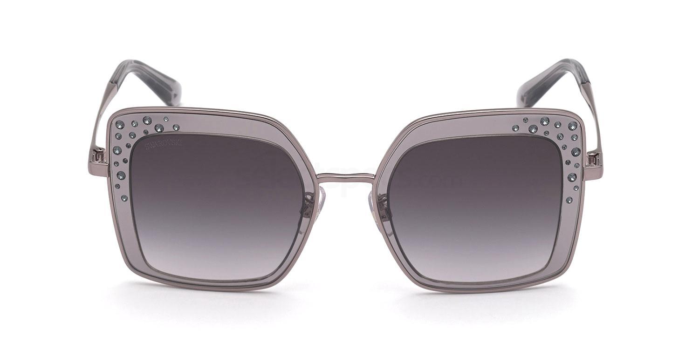 20B SK0324-H Sunglasses, Swarovski