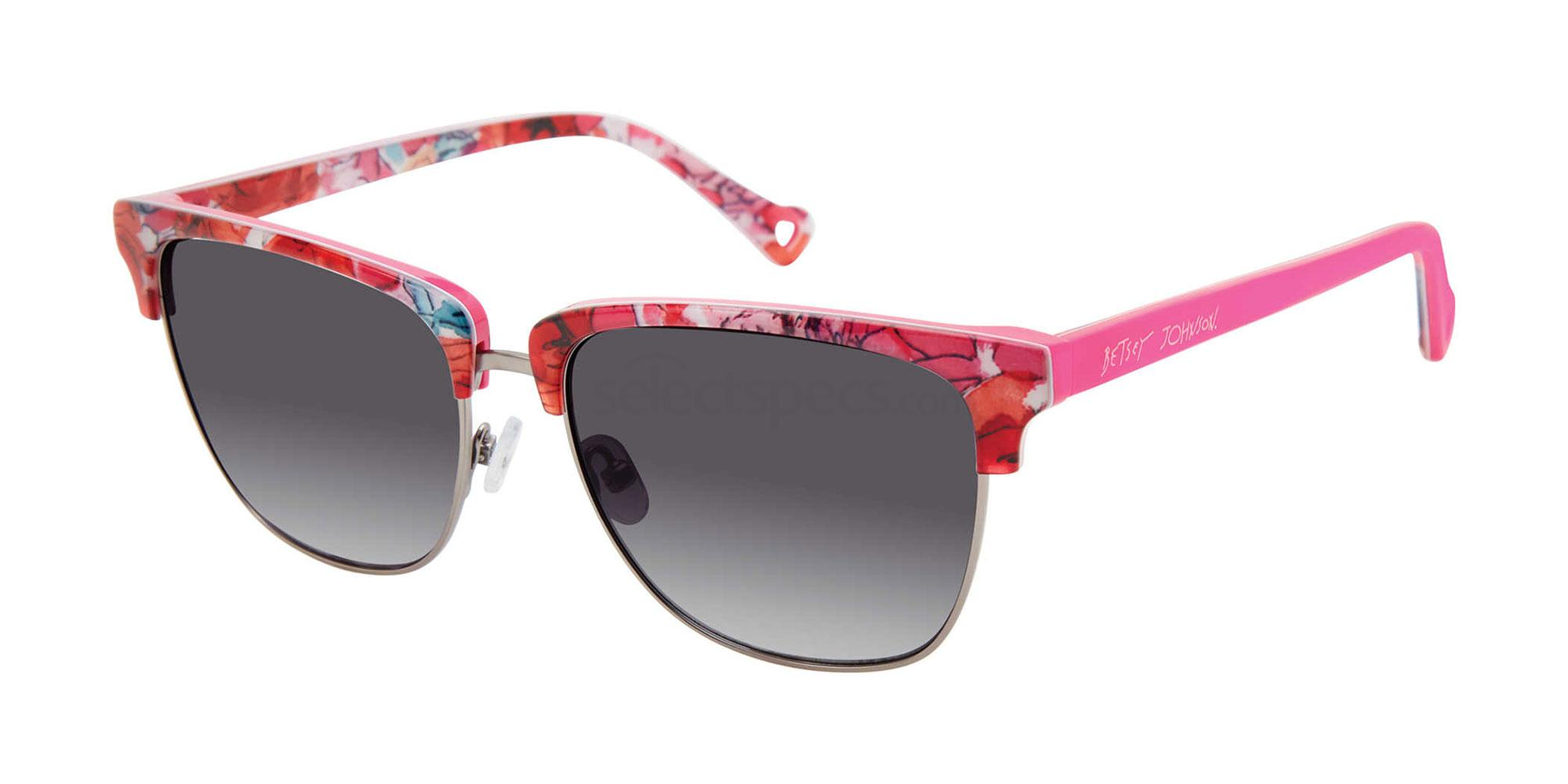 01 In The Club Sunglasses, Betsey Johnson